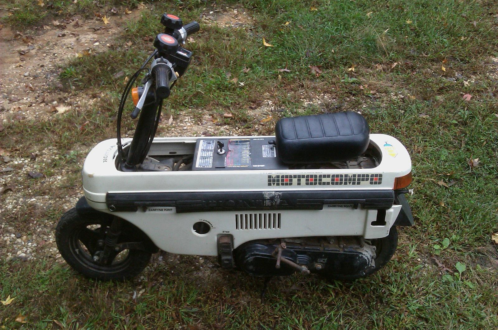 1981 Honda Motocompo For Sale Bike Urious
