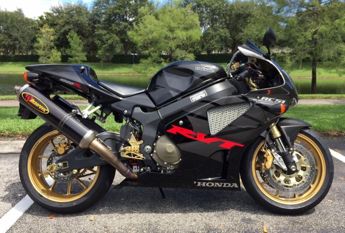 804 Miles - 2005 Honda RC51