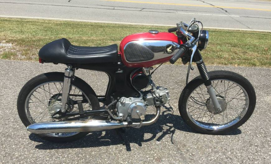 Cafe'd or Stock - Pick a Honda S90