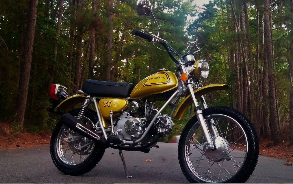 Restored - 1973 Honda SL70