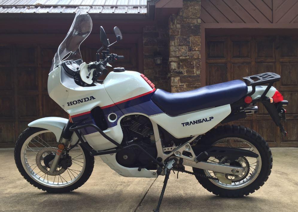 1,759 Miles - 1989 Honda Transalp