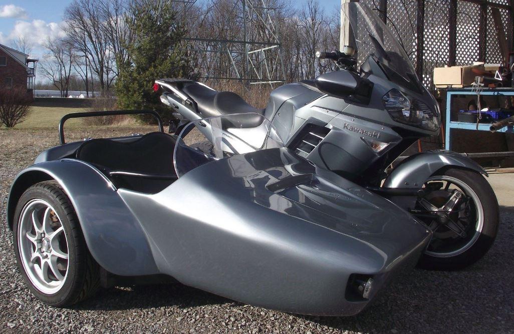 2008 Kawasaki Concours C14 with GX Sidecar