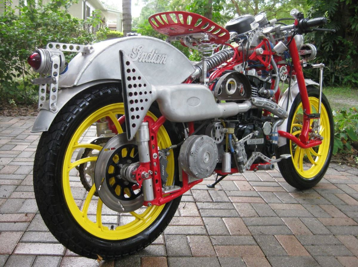 More of Doc's Crazy Customs - BSA and Indian