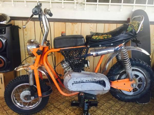 Mtd Mini Bike : Mtd trail flite mini bike urious