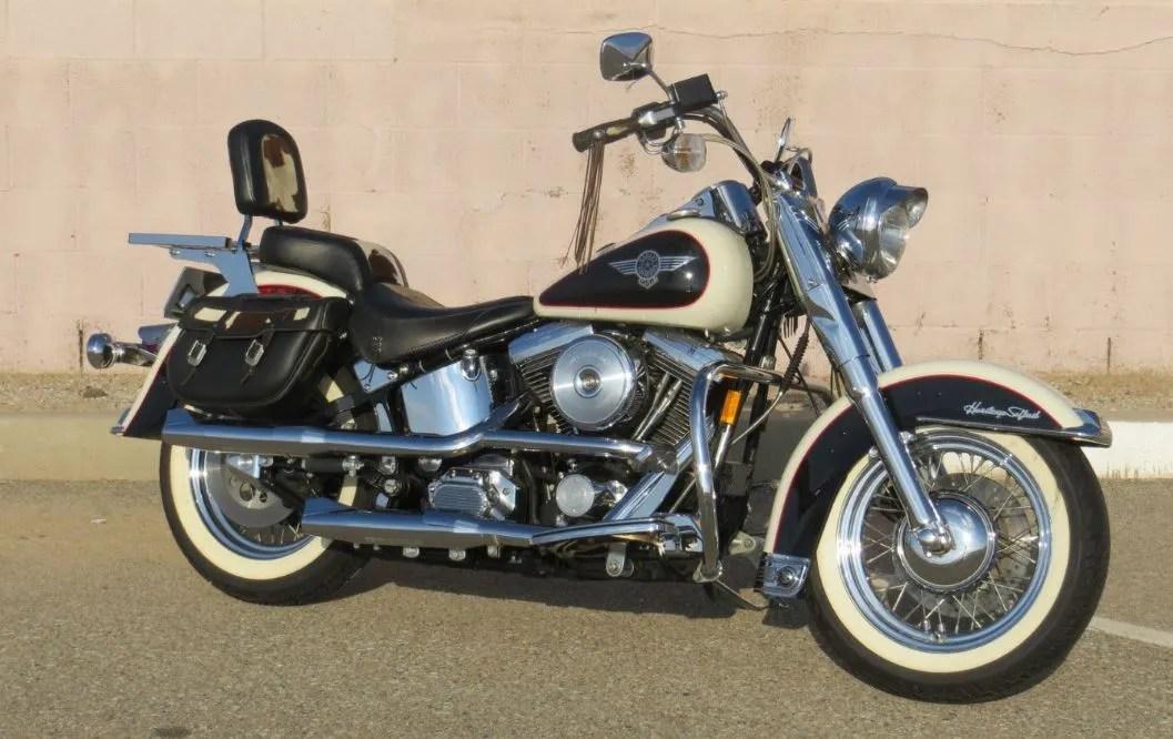 Moo Glide - 1993 Harley-Davidson Heritage Softail FLSTN