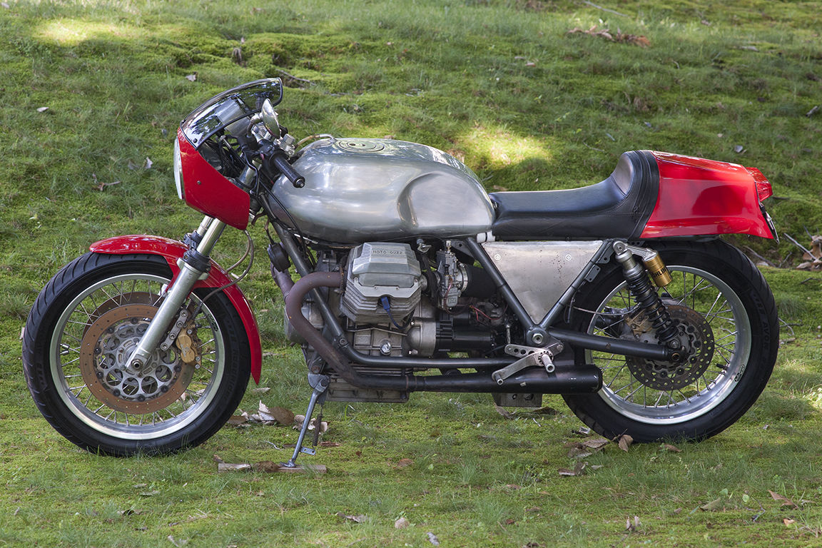 1984 moto guzzi lemans cafe racer for sale bike urious. Black Bedroom Furniture Sets. Home Design Ideas