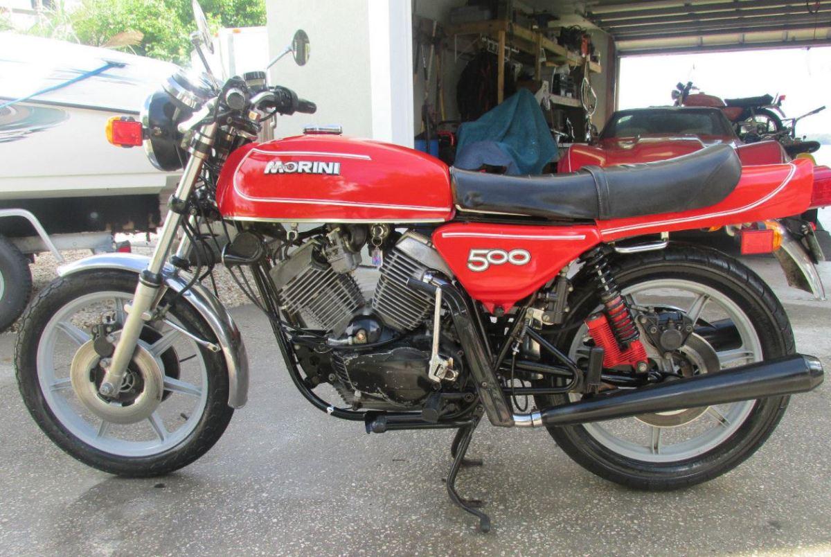 1979 Moto Morini 500