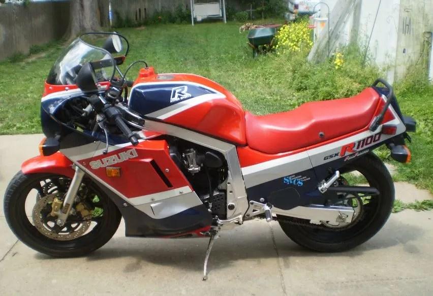 Been Sitting - 1986 Suzuki GSX-R 1100