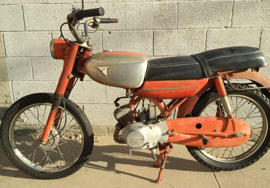 1959 Tohatsu Runpet CA1B