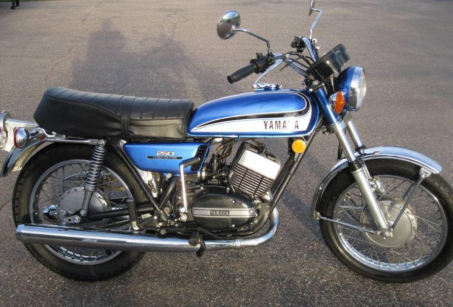 681 Miles - 1973 Yamaha RD250