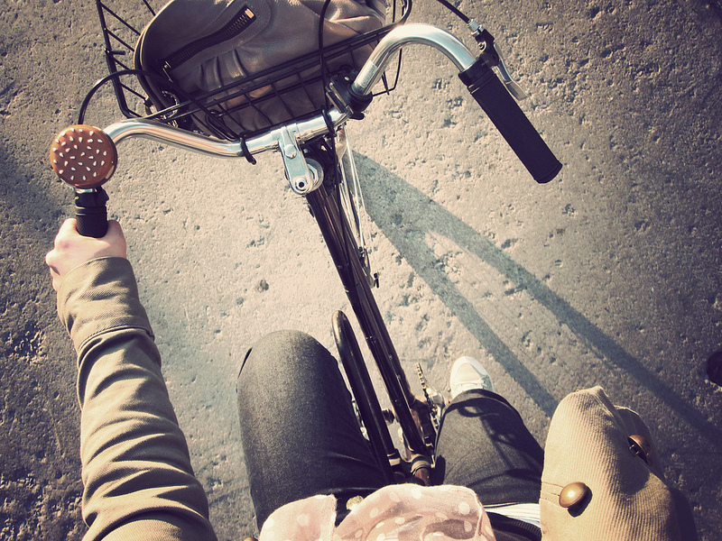 a spring bike ride by happy d via Flickr