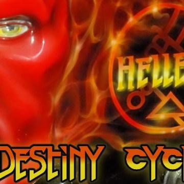 Hellboy by Destiny Cycles
