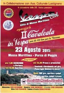 2° Vespa Cavalcata - Massa Marittima 2015