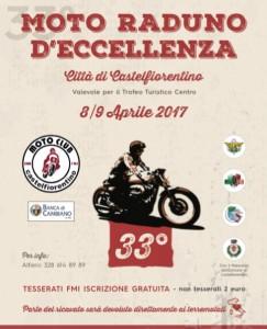 33° Motoraduno d'eccellenza Castelfiorentino  - 9 Aprile 2017