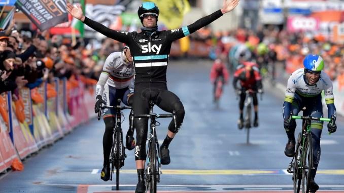 Wouter Poels wins the 2016 Liege-Bastogne-Liege