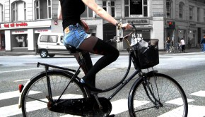 Copenhagen Fashionista on Wheels