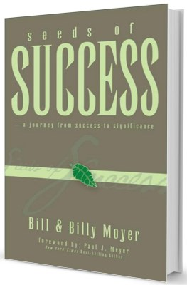 seeds of success books by Billy Moyer