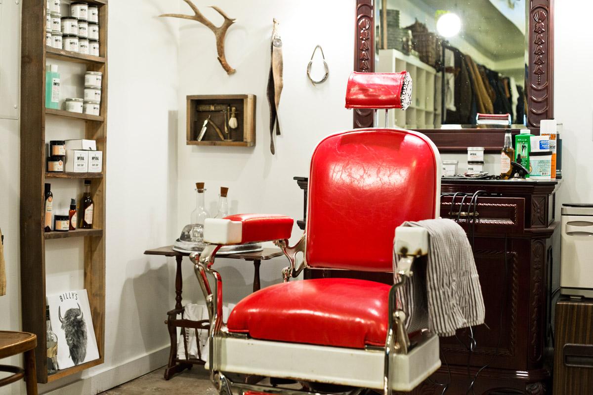 Billy's Barbershop - Park City, Utah