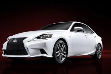 Første billede af ny Lexus IS