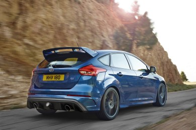 Ford Focus RS bagfra