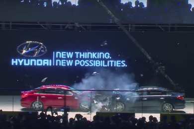 Hyundai Sonata crashtest