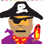 Draw Something - Pirate