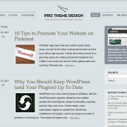 Pro Theme Design Blog