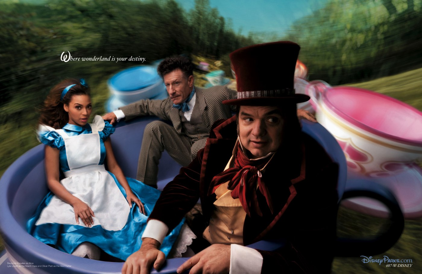 Alice in Wonderland - Beyonce