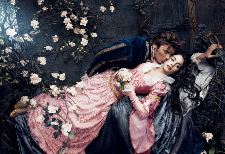 Vanessa Hudgens and Zac Efron - Sleeping Beauty