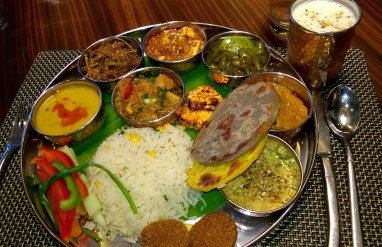 The Vegetarian Thaali