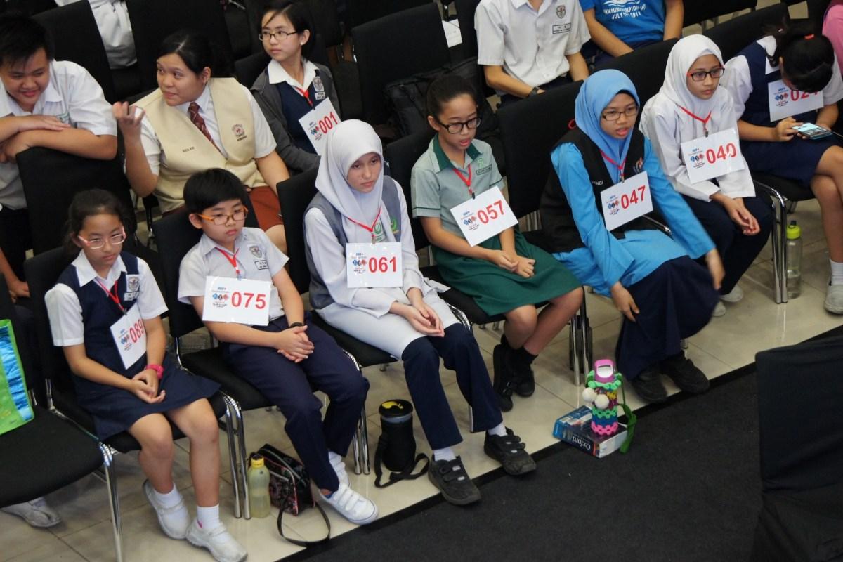 Spelling Champions of Sarawak