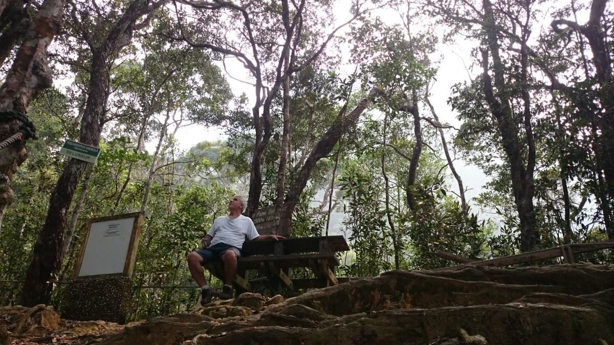 Climbing Mount Santubong