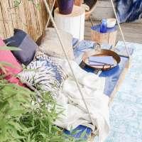 Buitenleven | Mediterrane en bohemian sfeer in de tuin