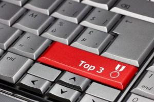 Computer key - Top 3