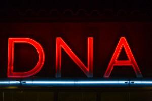 DNA sign by Thomas Hawk via Flickr.