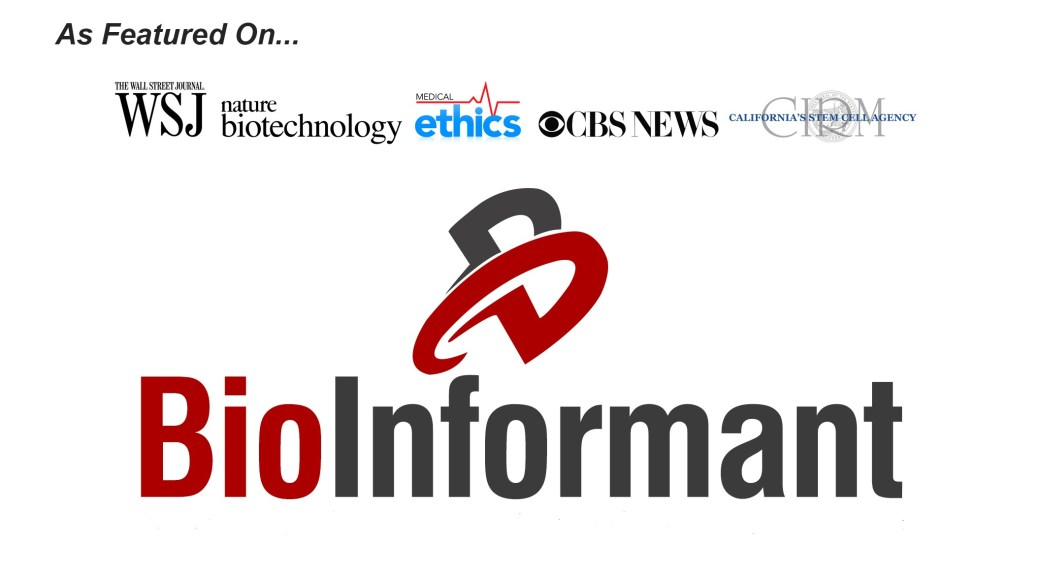 BioInformant Logo - As Featured On