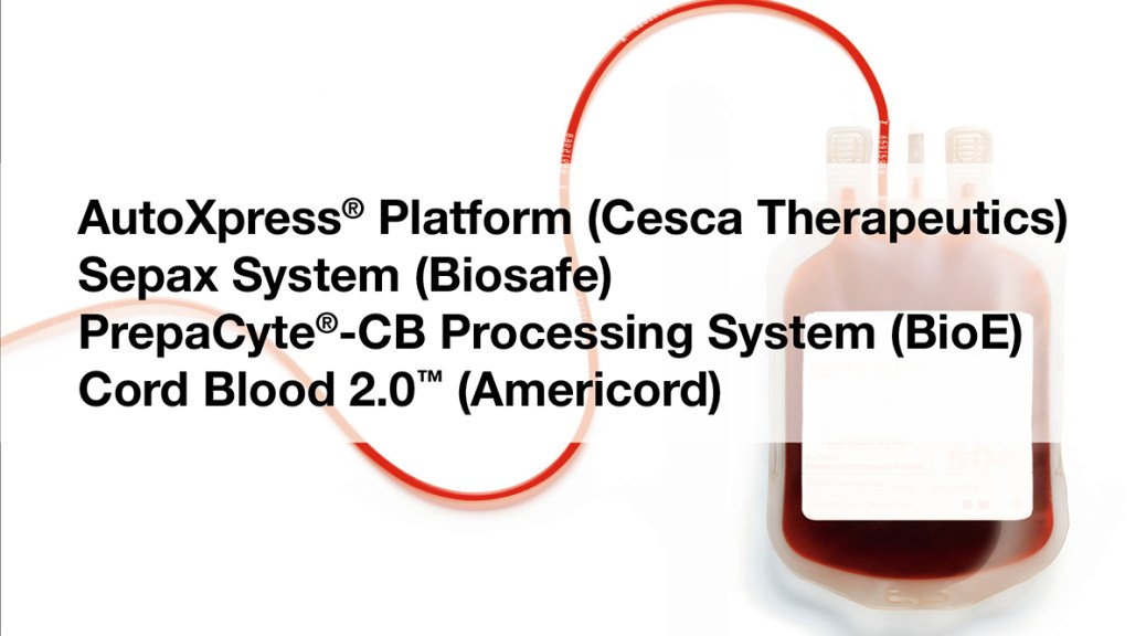 Automated Cord Blood Processing Systems
