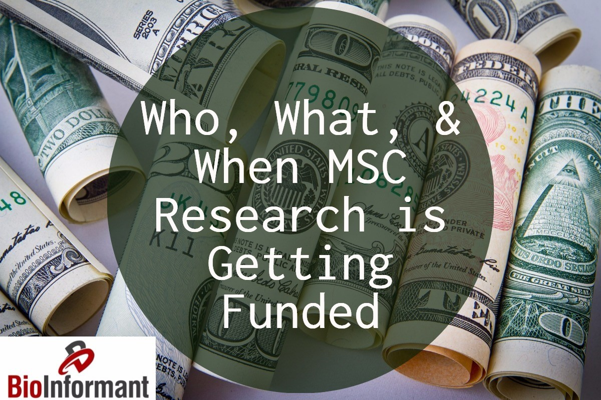 Who, What, and When MSC Research is Getting Funded - Grant Rate Analysis