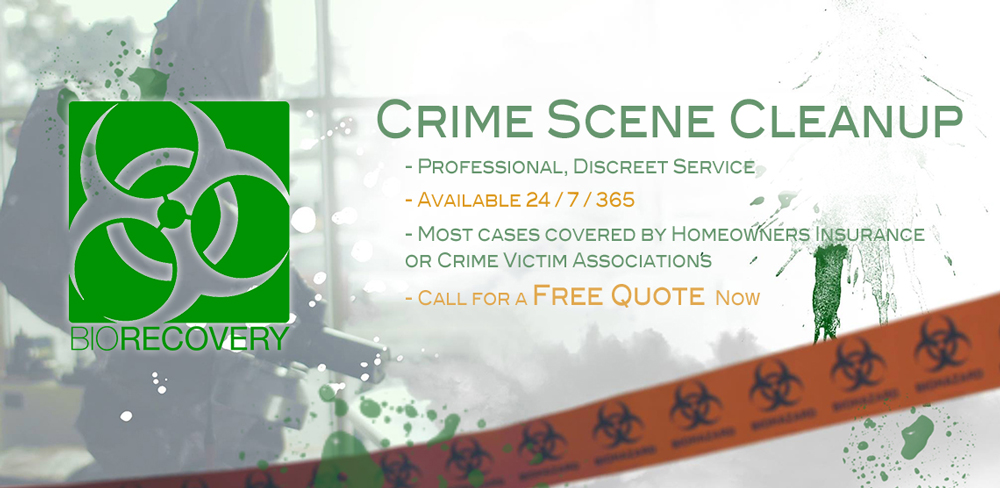Crime Scene Cleanup and why it's important to get it cleaned up fast