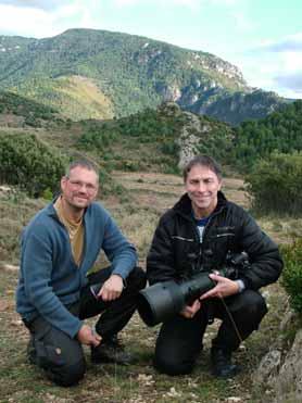 Swedish photographers in northeast Spain