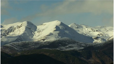 The Pre-pyrenees after the snow