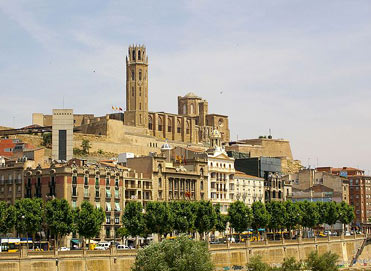 Lleida. Connected to Barcelona by…