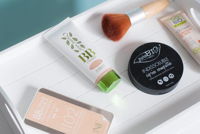 Maquillage bio: Mon avis sur des fonds de teint, BB Cream, CC Cream et poudre bio