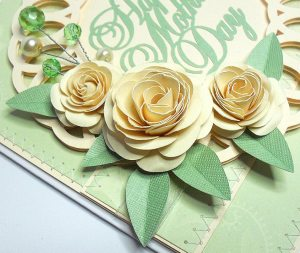 mothers day doily card 2