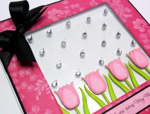 tulip april showers card 2