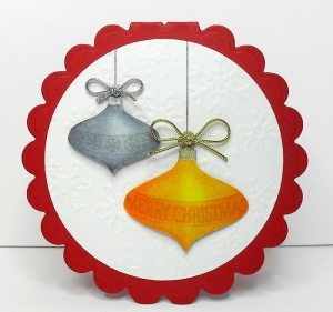 bauble card