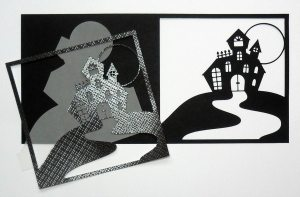 Haunted House Card 1