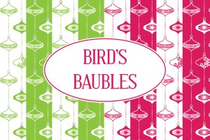 Birds Baubles
