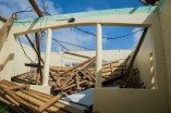 The Les Fruits de Mer Museum in St. Martin was destroyed. (Photo by Mark Yokoyama)