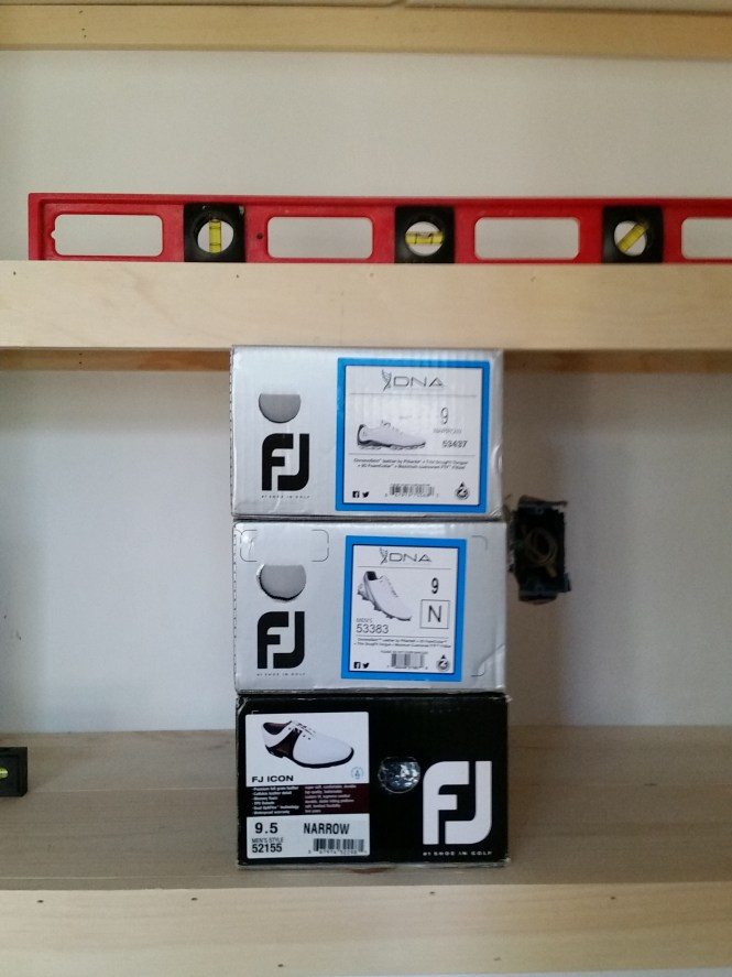 Footjoy Shelf